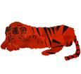 Tigre adulte - robe 16019